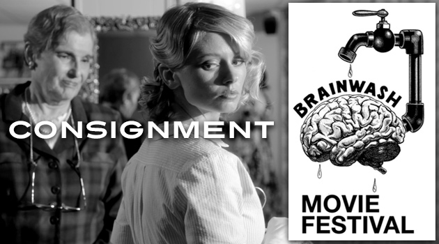 Consignment movie by Justin Hannah showing as an Official Selection at the 2013 Brainwash Movie Festival