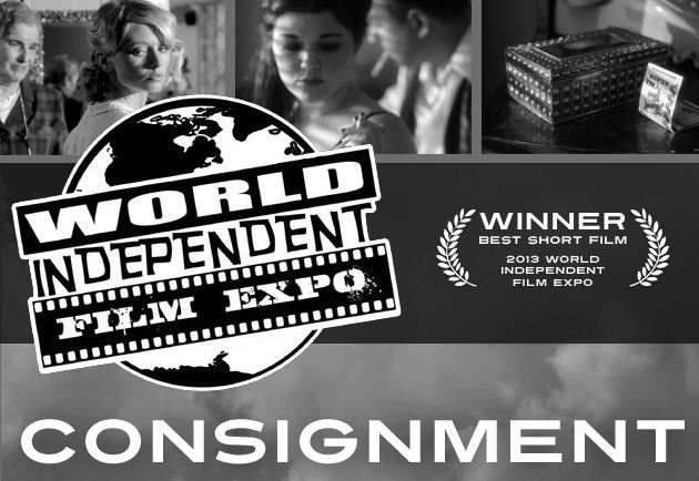 Consignment movie by Justin Hannah wins Best Short Film at the 2013 World Independent Film Expo
